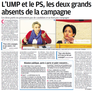 Article La Provence 18/03/2015