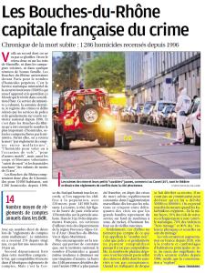 Marseille capitale du crime