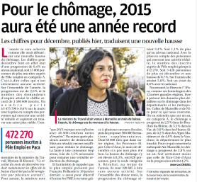 Article Chomage 2015