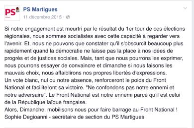 Facebook PS Martigues
