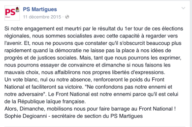 Facebook PS Martigues