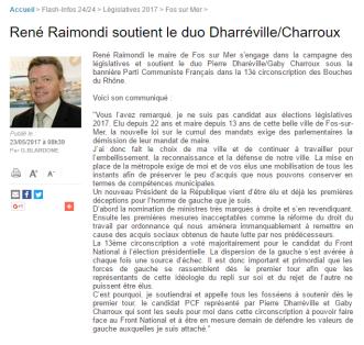 Maritima Soutien Raimondi Dharréville
